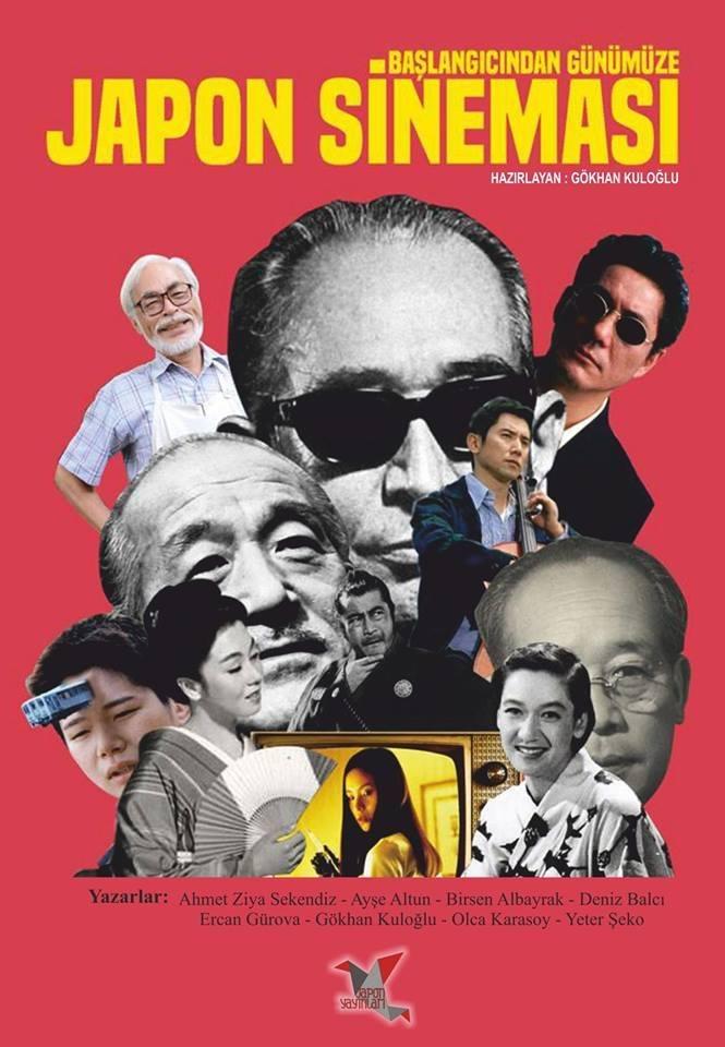 Başlagıcından Günümüze Japon Sineması kitabı