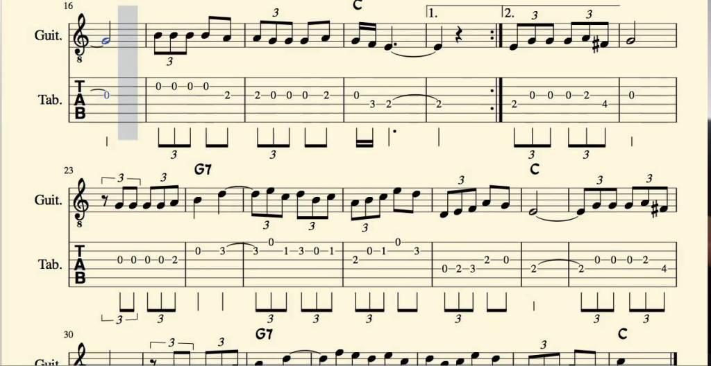 La Paloma Şarkısı Notları ve Sözleri